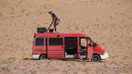 Ein Tag im Sand