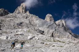 Mountainbiken im Rätikon - Felstürme