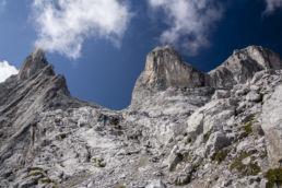 Mountainbiken im Rätikon - Es wird steiler