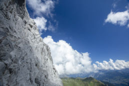 Mountainbiken im Rätikon - Bald oben