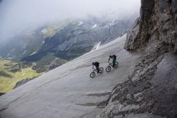 Mountainbiken im Rätikon - Drop in