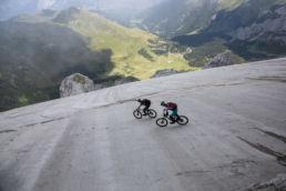 Mountainbiken im Rätikon - Tiefblick garantiert
