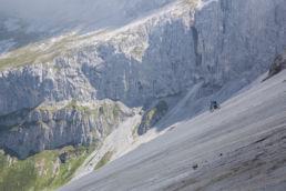 Mountainbiken im Rätikon - Die perfekte Felsplatte