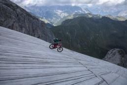 Mountainbiken im Rätikon - Wasserrinnen und Tiefblicke