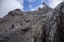 Mountainbiken im Rätikon - Der Trail ins Tal