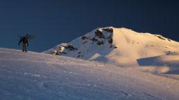 Downthehill Snowride - Dem Gipfel entgegen