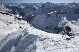 Downthehill Snowride - Tourstart vor gewaltiger Kulisse