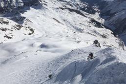 Downthehill Snowride - Technisches Biken im Winter