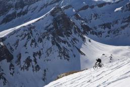 Downthehill Snowride - Mountainbiken im Hochgebirge