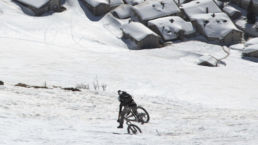 Downthehill Snowride - Crash im Winter