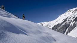 Snowboardtouren Kleinwalsertal - Kaiserwetter