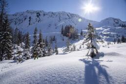 Snowboardtouren Kleinwalsertal - feinster Powder