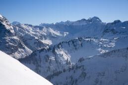 Snowboardtouren Kleinwalsertal - Traumpanorama