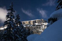 Snowboardtouren Kleinwalsertal - tolles Naturschauspiel