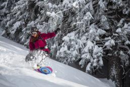 Snowboardtouren Allgäu - Abfahrtsspaß